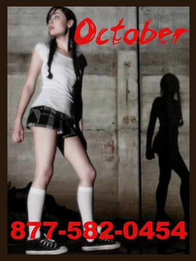 Teen Phone Sex fantasy roleplay's october